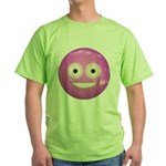 Candy Smiley - Pink Green T-Shirt