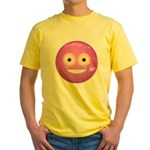 Candy Smiley - Pink Yellow T-Shirt
