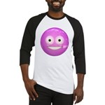 Candy Smiley - Pink Baseball Jersey