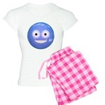 Candy Smiley - Blue Women's Light Pajamas