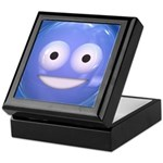 Candy Smiley - Blue Keepsake Box