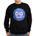 Candy Smiley - Blue Sweatshirt (dark)