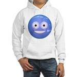 Candy Smiley - Blue Hooded Sweatshirt