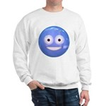 Candy Smiley - Blue Sweatshirt