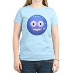 Candy Smiley - Blue Women's Light T-Shirt