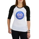Candy Smiley - Blue Jr. Raglan