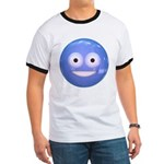 Candy Smiley - Blue Ringer T
