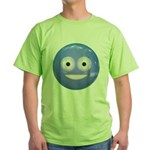 Candy Smiley - Blue Green T-Shirt