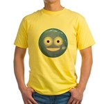 Candy Smiley - Blue Yellow T-Shirt