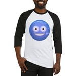 Candy Smiley - Blue Baseball Jersey