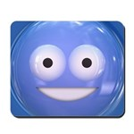 Candy Smiley - Blue Mousepad