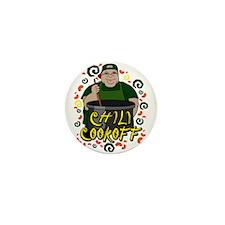 Man in Apron green Chili Cookoff Graphic Mini Butt