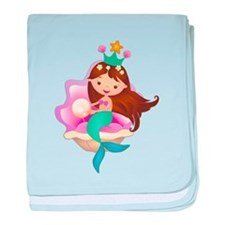 Princess Mermaid baby blanket