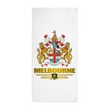 Melbourne (Flag 10)2.png Beach Towel