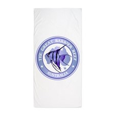 Australia -The Great Barrier Reef Beach Towel