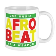AFROBEAT _ USE MUSIC AS A WEAPON Small Mugs