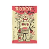 Robot & Son Rectangle Magnet (10 pack)