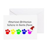 American Brittanies Believe Greeting Cards (Packag