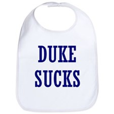 Duke Sucks Bib