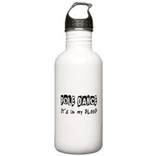 Pole Dance dance Designs Water Bottle
