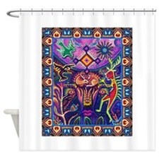 Huichol Dreamtime Shower Curtain For