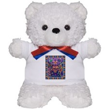 Huichol Dreamtime Teddy Bear