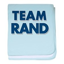 TEAM RAND baby blanket