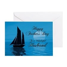 Fathers Day card for husband Greeting Card