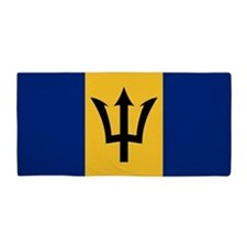 Flag of Barbados Beach Towel