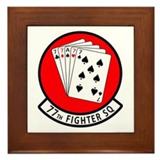 77th Fighter Squadron Framed Tile