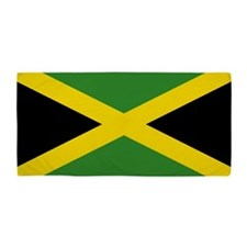 Jamaican Flag Beach Towel