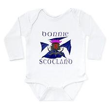Bonnie Scotland flag design Body Suit
