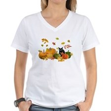 Black Cat Pumpkins T-Shirt