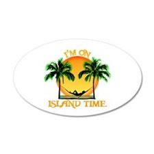 Island Time Wall Decal