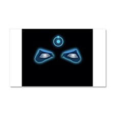 Dr. Manhattan Watchmen Neon Eyes Car Magnet 20 x 1