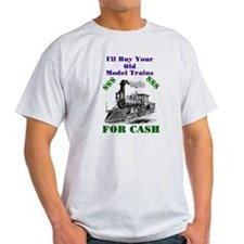 I Buy Trains T-Shirt