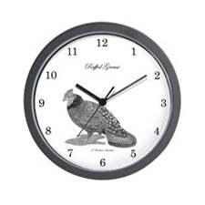 Ruffed Grouse Wall Clock