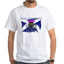 Sons of Scotland Freedom flag design T-Shirt