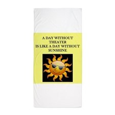 THEATER Beach Towel