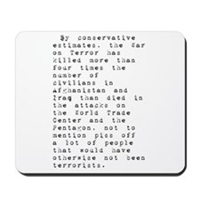 Anti-War Mousepad