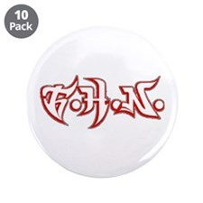 """TIME HEALS NOTHING 3.5"""" Button (10 pack)"""