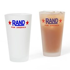 Rand Paul For America Drinking Glass