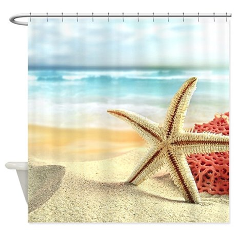 awesome gifts awesome bathroom d cor summer beach shower curtain