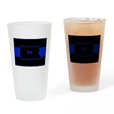 Pennsylvania Thin Blue Line Drinking Glass