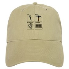 Screw Hammer Nuts Vent Baseball Cap