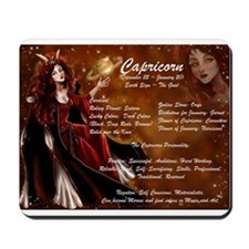 Goddess Capricorn Mousepad