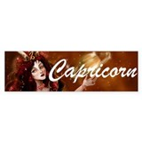 Goddess Capricorn Bumper Bumper Sticker