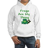 Frogs Are My Thing Jumper Hoody
