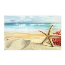Summer Beach 3'x5' Area Rug