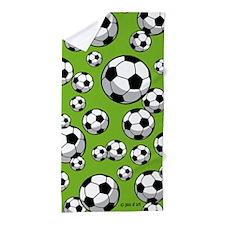 Soccer Beach Towel